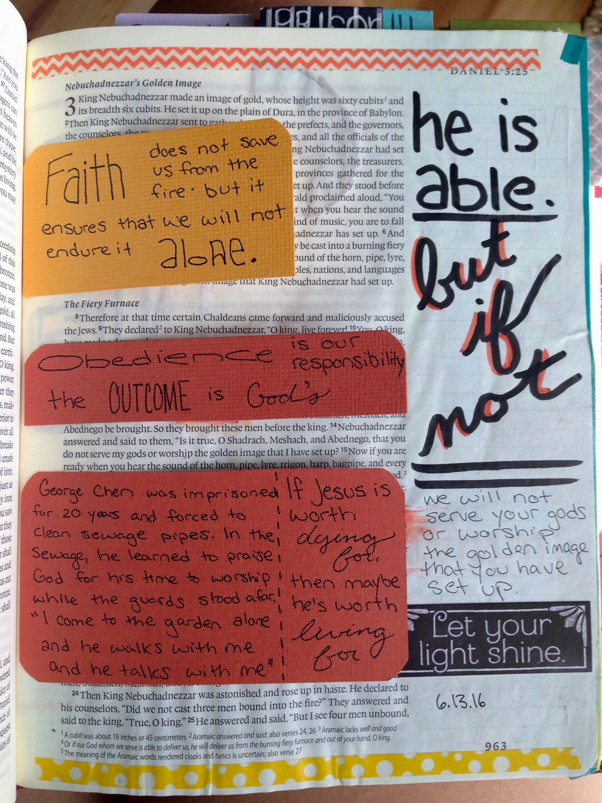 bible journaling u2013 just makenna